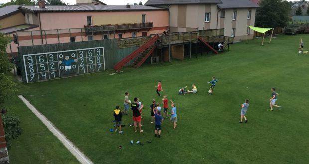 Obóz Żelistrzewo  I Turnus dzień 1