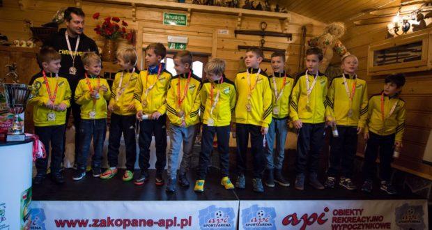 4 miejsce rocznika 2008 na Api Cup w Zakopanem