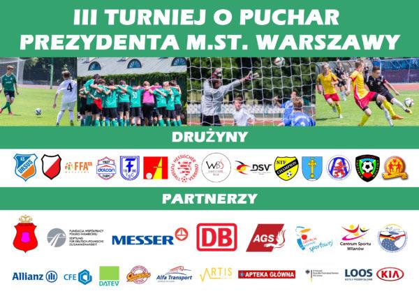 I miejsce rocznika 2008 w III Międzynarodowym Turnieju o Puchar Prezydenta  m.st.Warszawy