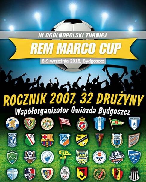 Turniej Rem Marco Cup Bydgoszcz Rocznik 2007