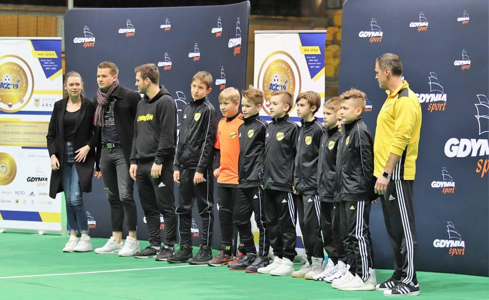 VIII miejsce rocznika 2007 w turnieju ARKA CUP 2019