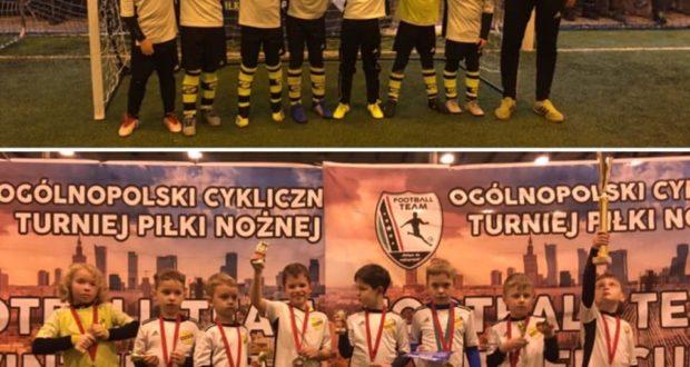 Pierwsze turniejowe doświadczenia zawodników Championa z rocznika 2011 poza Warszawą
