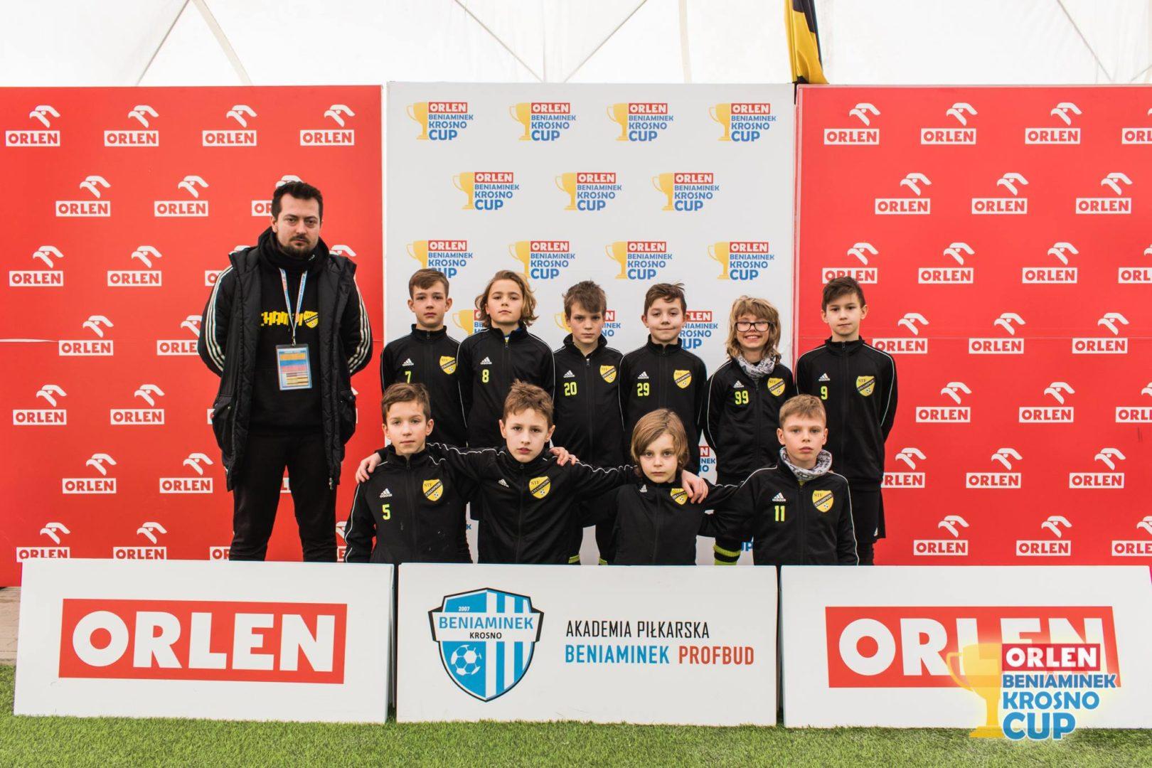 Zwycięstwo w Srebrnej grupie w turnieju Orlen Beniaminek Krosno Cup