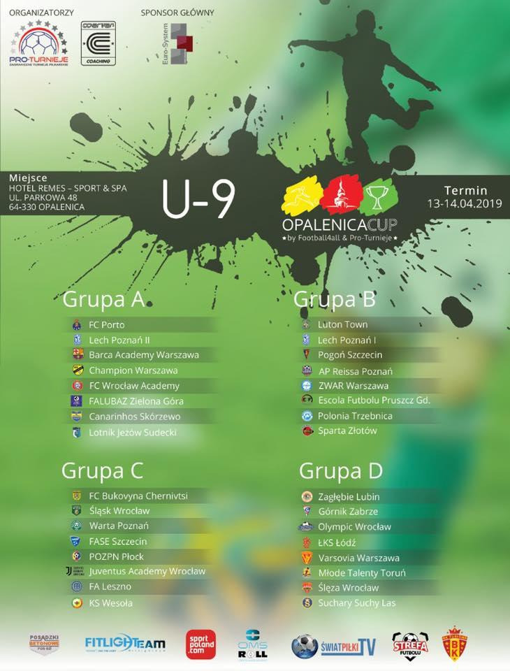 Wyjazd drużyn Championa z roczników 2008 i 2010 na międzynarodowy turniej w Opalenicy