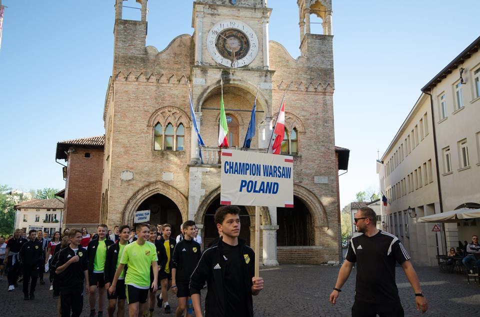 Piłkarskie Święta Wielkanocne zespołu Championa rocznika 2004/05 we Włoszech
