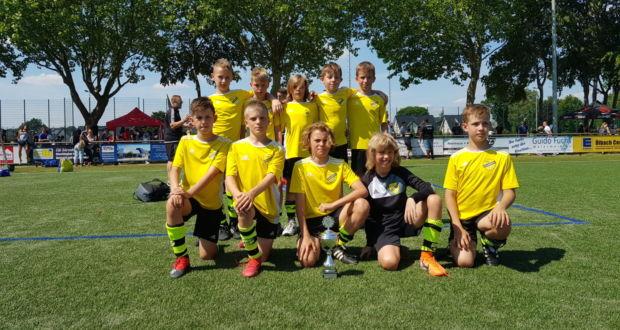 2 miejsce w Złotej Grupie rocznika 2009 na turnieju w Niemczech