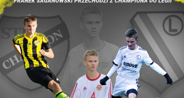 Franek Saganowski przechodzi z Championa do Legii Warszawa!